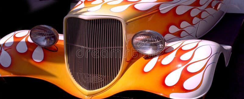 Download Vieilles flammes photo stock. Image du flammes, véhicule - 79070