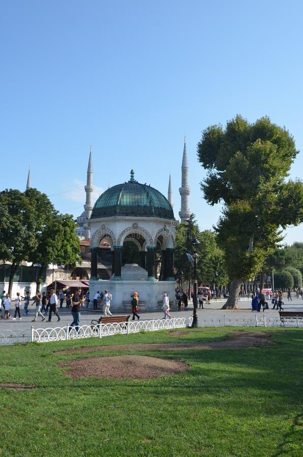 Vieilles fontaines turques photo libre de droits