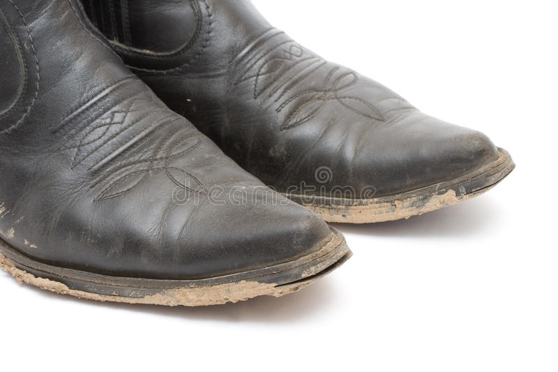 Vieilles gaines de cowboy modifiées image libre de droits