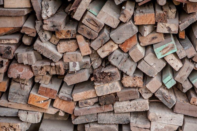 Vieilles lamelles en bois photographie stock libre de droits