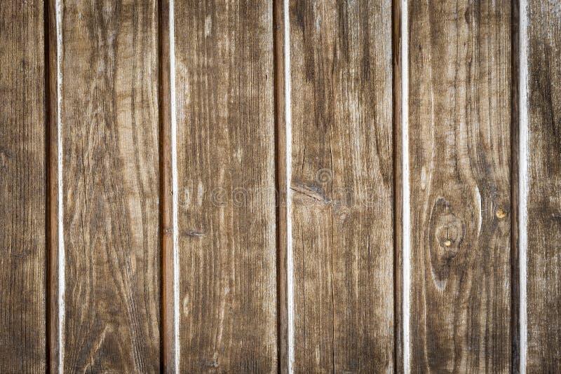 Vieilles lamelles en bois avec la structure image stock