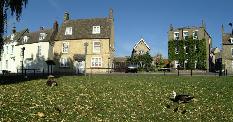 Vieilles maisons dans Ely photos stock