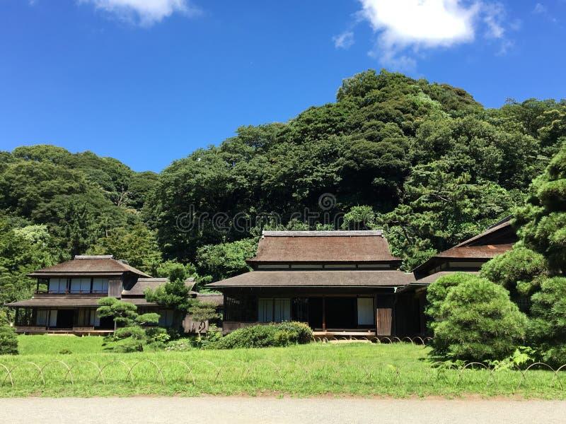 VIEILLES MAISONS JAPON image stock