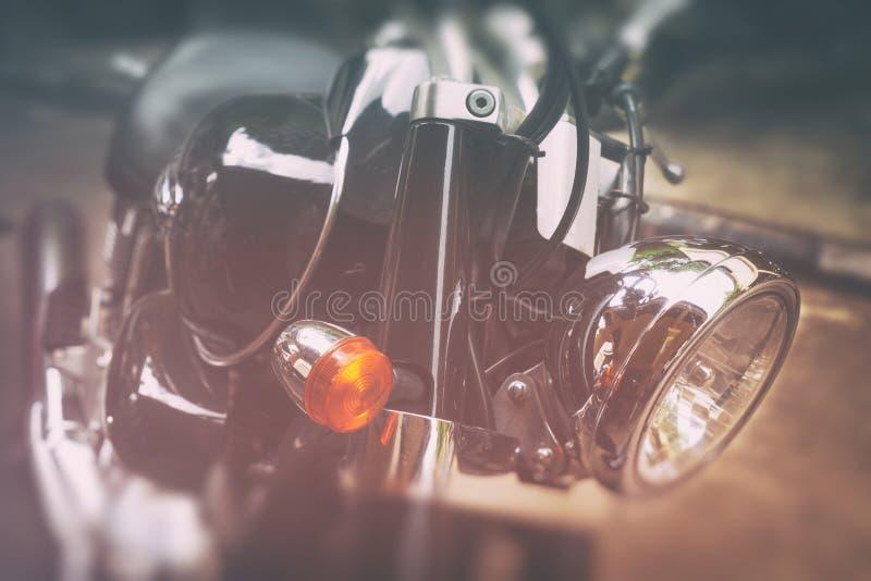 Vieilles motos classiques image libre de droits