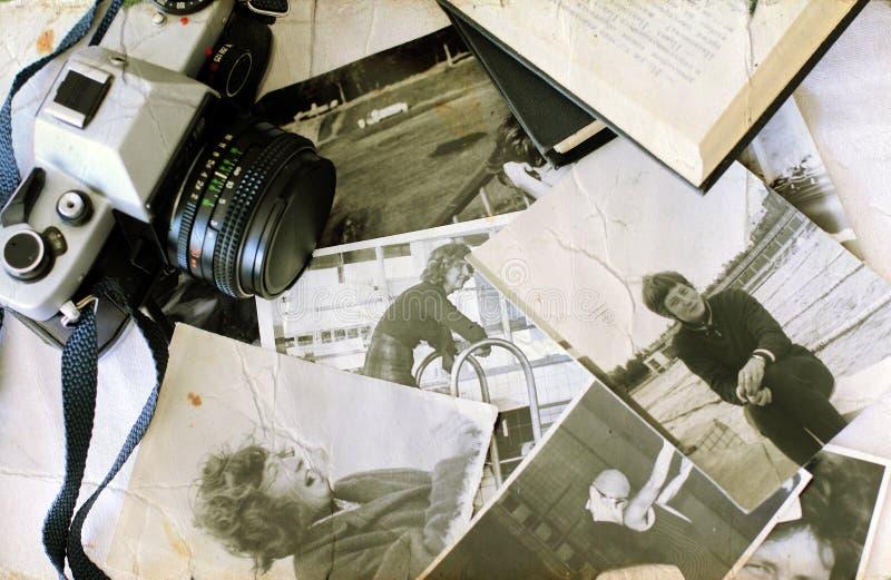Vieilles photographies photographie stock libre de droits