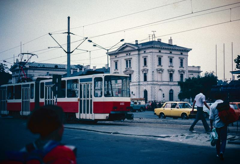 Vieilles photos de Belgrade image stock