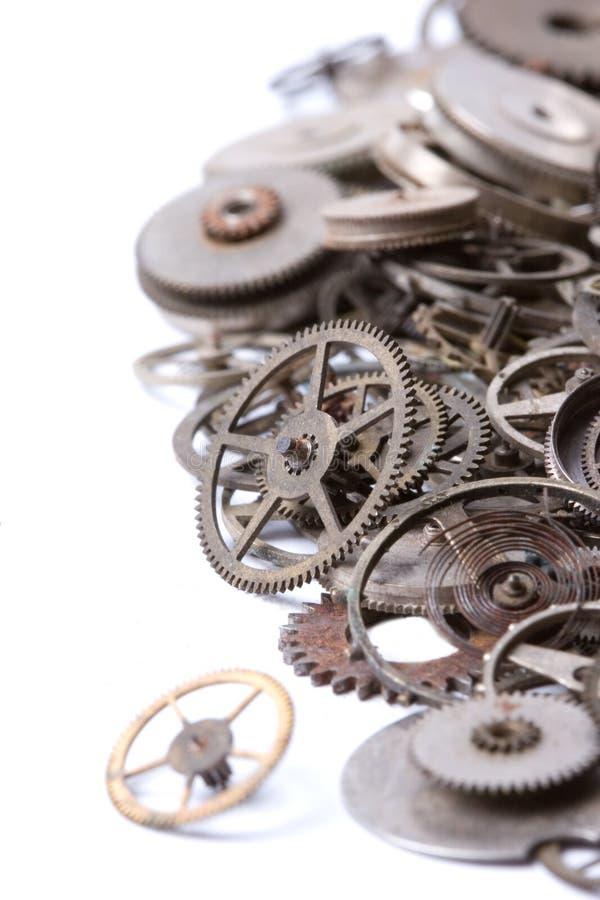 Vieilles pièces de montre photo stock