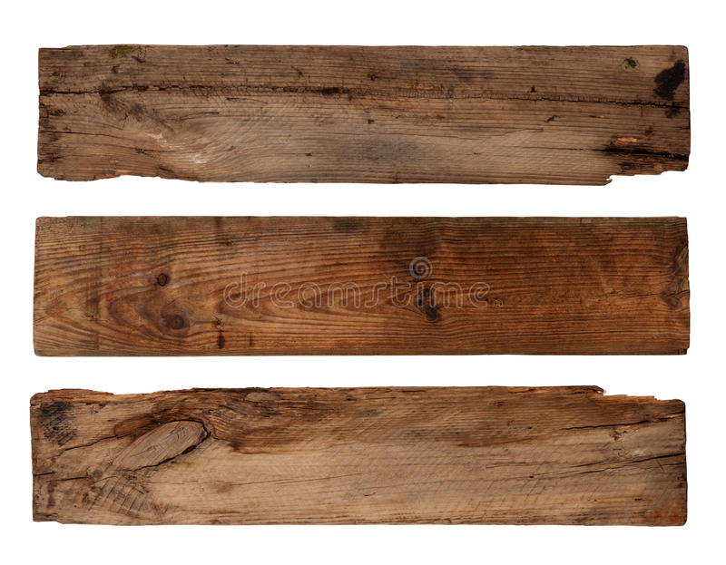 Vieilles planches image stock