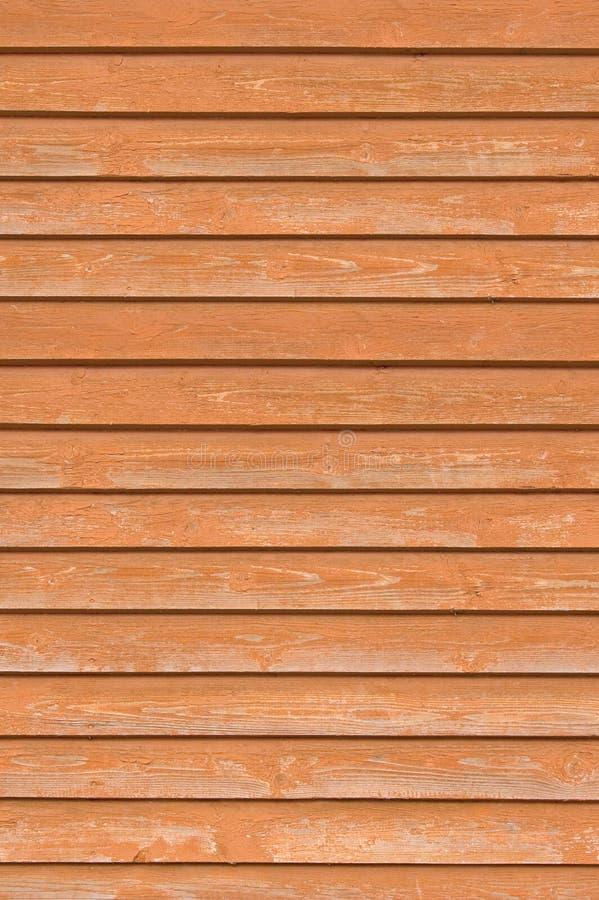 Vieilles planches en bois naturelles de mur de barrière, texture étroite en bois de conseil, verticale recouvrant la terre cuite  images stock