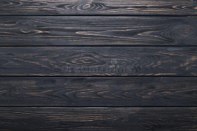 Vieilles planches en bois rustiques noires texture ou fond photographie stock libre de droits