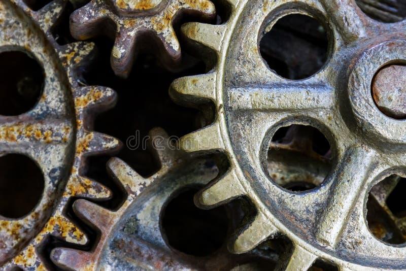 Download Vieilles Roues Dentées Rouillées Fond Industriel Photo stock - Image du travail, machines: 87707714