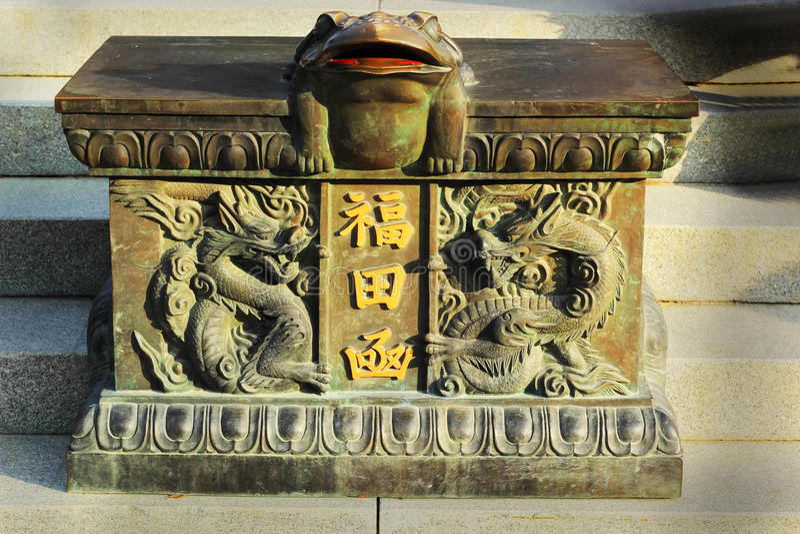 Vieilles statues antiques Seoraksan, Corée. photographie stock libre de droits