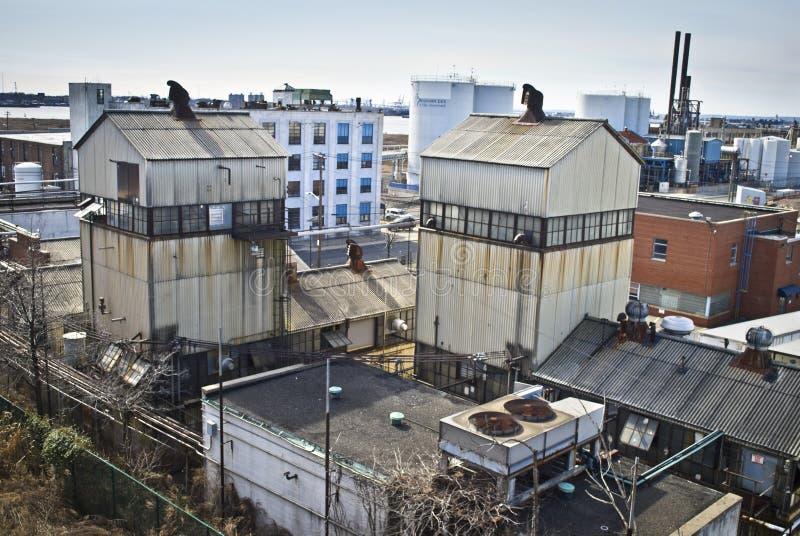 Vieilles usines du New Jersey images stock