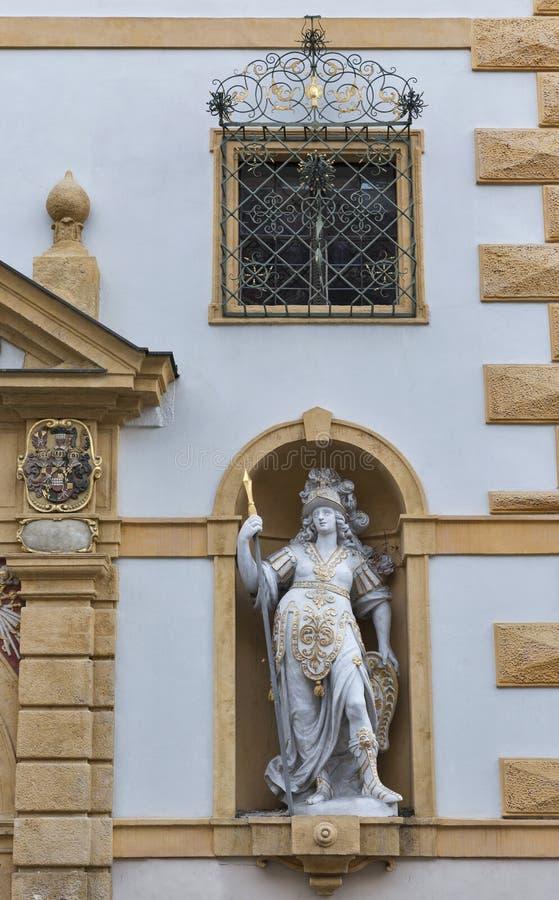 Vieja arquitectura de la ciudad en Graz, Estiria, Austria imagen de archivo libre de regalías