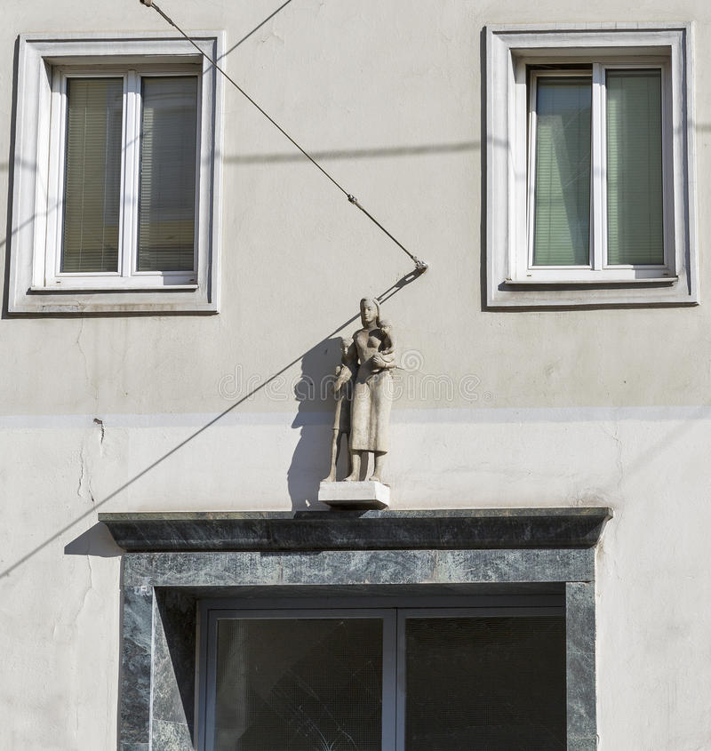 Vieja arquitectura de la ciudad en Graz, Estiria, Austria imagenes de archivo
