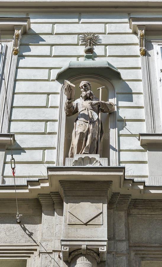 Vieja arquitectura de la ciudad en Graz, Estiria, Austria foto de archivo libre de regalías