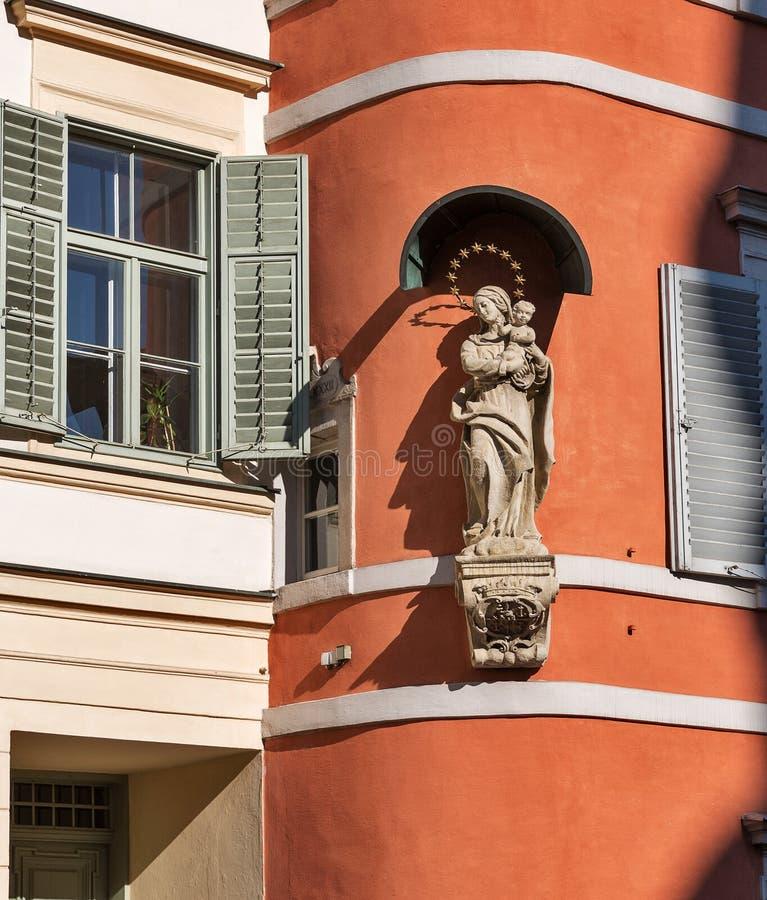Vieja arquitectura de la ciudad en Graz, Estiria, Austria imagen de archivo