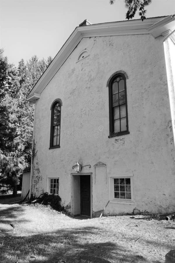 Vieja arquitectura de la iglesia de Pennsylvania imagen de archivo