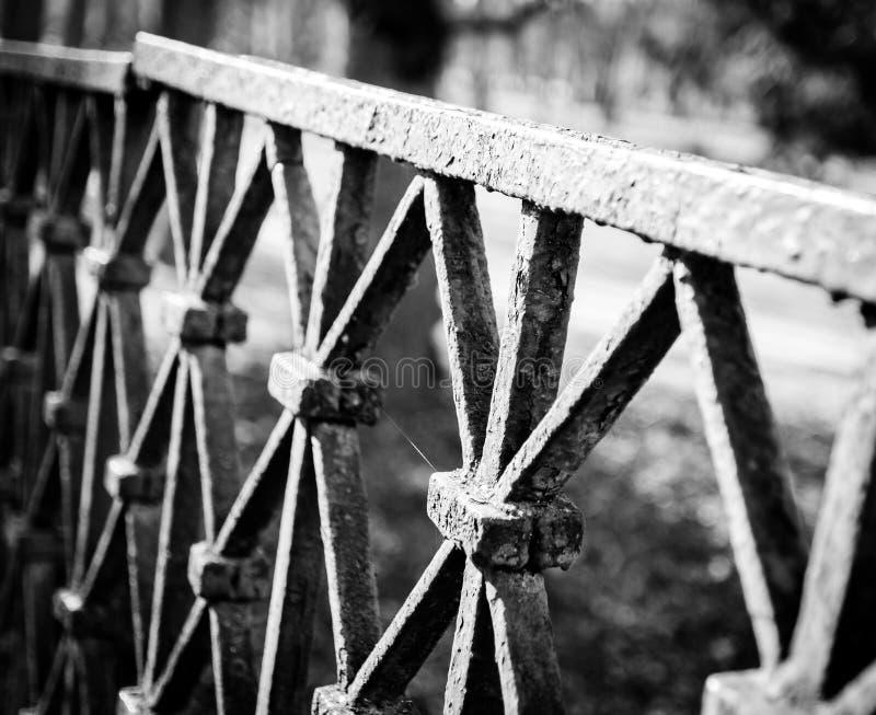 Vieja barrera fotografía de archivo libre de regalías