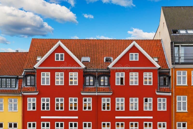 Vieja configuración de Copenhague fotos de archivo