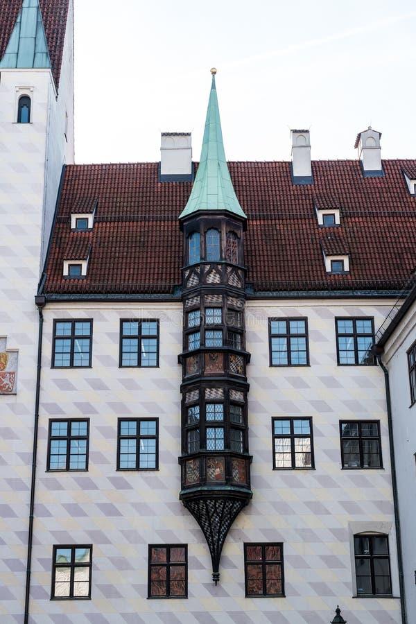Vieja corte en Munich, Alemania Residencia anterior de Louis IV imágenes de archivo libres de regalías