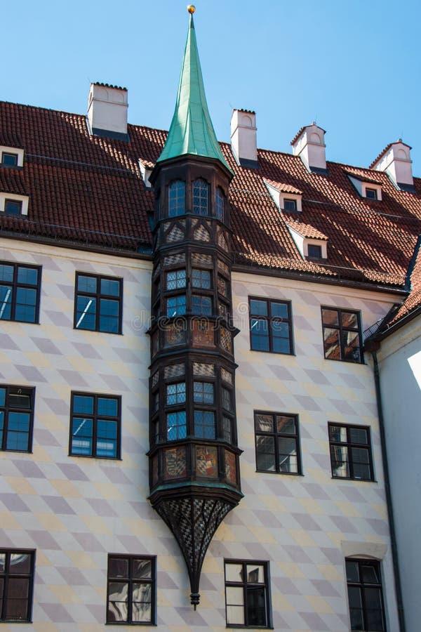 Vieja corte, Munich imagen de archivo libre de regalías