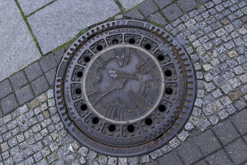 Vieja cubierta de boca hermosa en Berlin Germany September 2017 fotos de archivo libres de regalías
