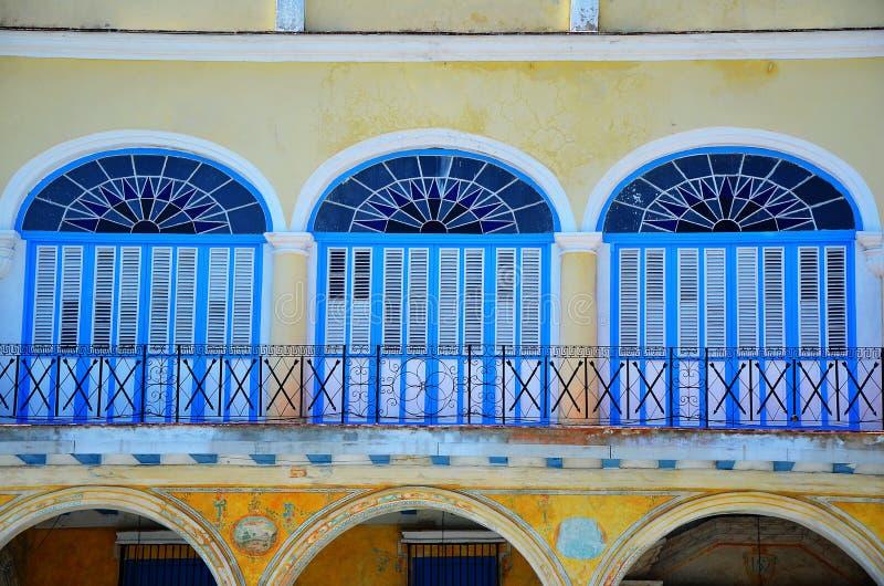 Vieja de Havana, cidade velha, Cuba fotografia de stock royalty free