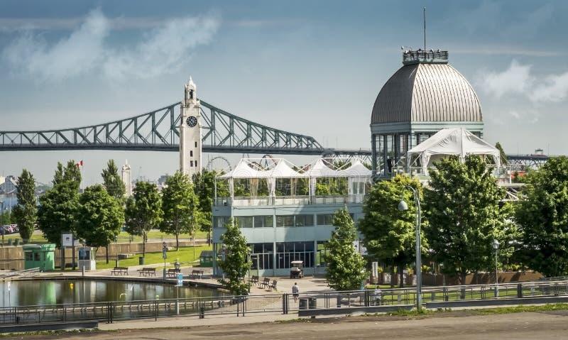 Vieja escena de Montreal fotos de archivo