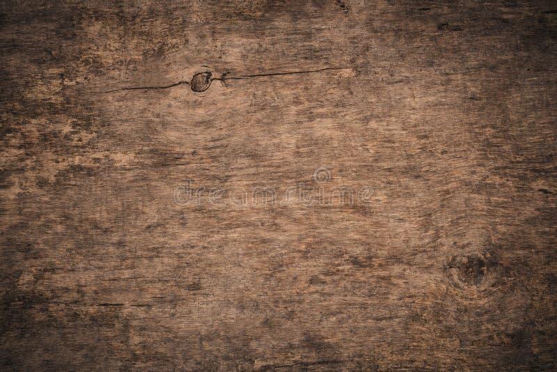 Vieja fondo de madera texturizado del grunge oscuridad La superficie de la vieja textura de madera marrón Textura de la madera co fotografía de archivo