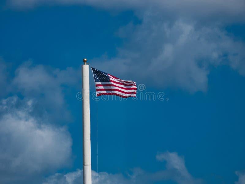 Vieja Glory Flying en el viento fotos de archivo