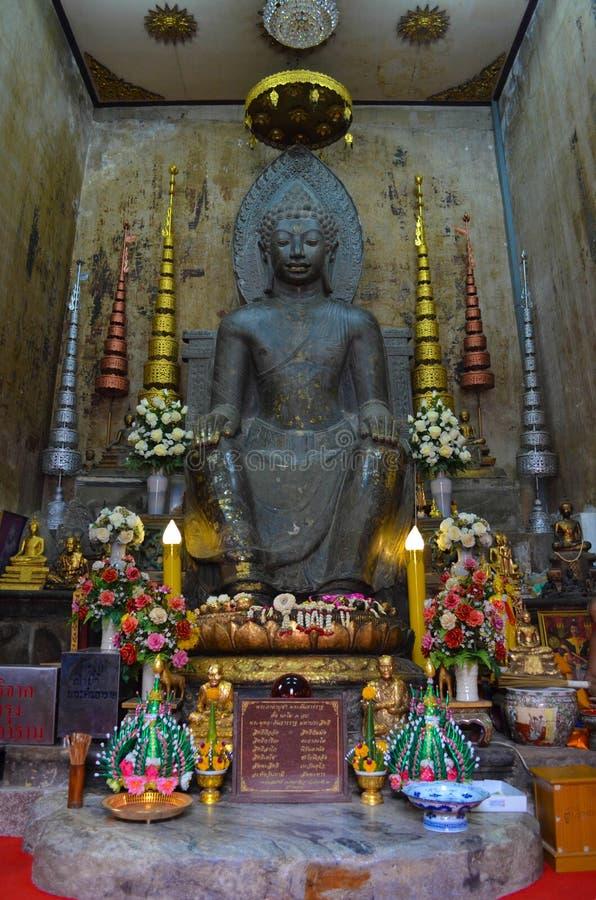Vieja imagen de Buda foto de archivo libre de regalías
