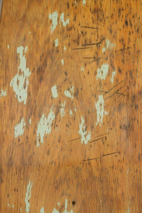 Vieja mano de madera del fondo de la madera contrachapada hecha a mano sin las herramientas imagen de archivo libre de regalías