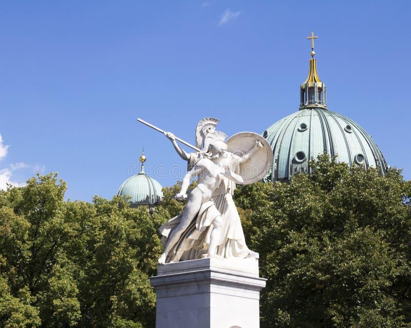 Vieja opinión típica de Berlín foto de archivo libre de regalías