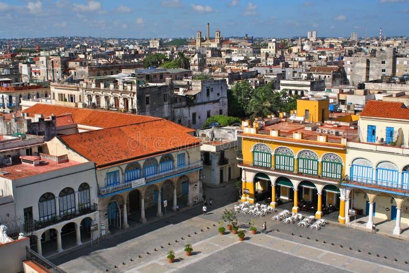 vieja plaza της Αβάνας στοκ φωτογραφία με δικαίωμα ελεύθερης χρήσης