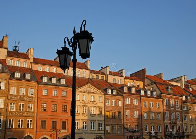 Vieja plaza. foto de archivo