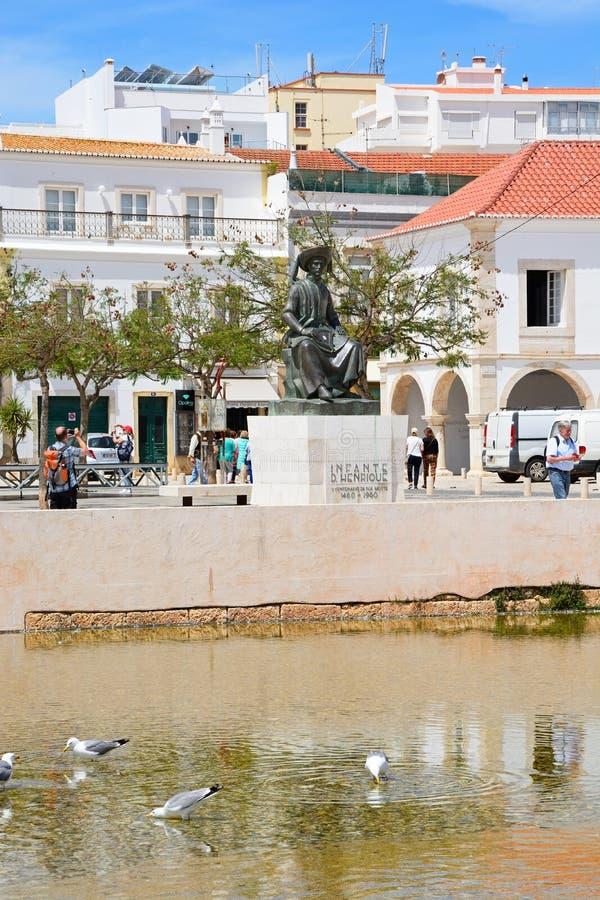 Vieja plaza, Lagos, Portugal fotografía de archivo libre de regalías