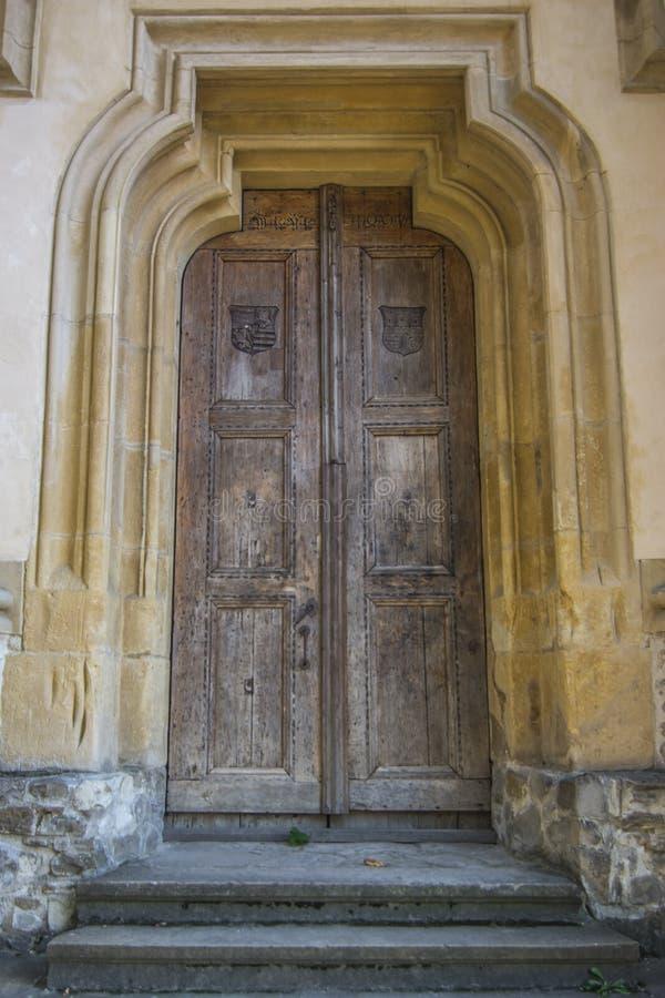 Vieja puerta foto de archivo