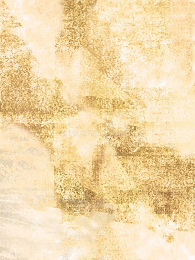 Vieja superficie stock de ilustración