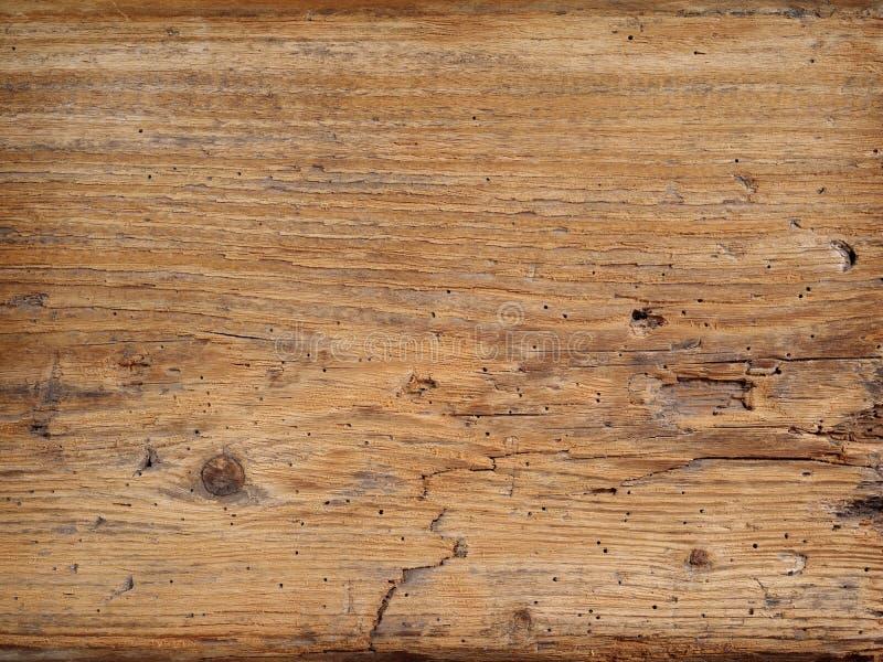 Vieja tarjeta de madera
