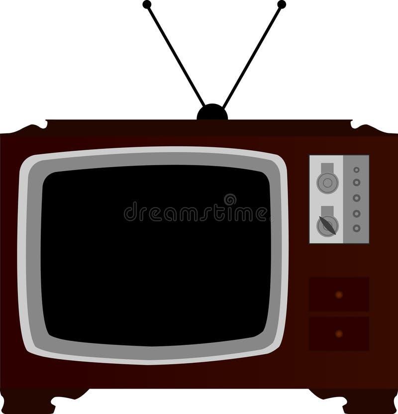 Vieja televisión libre illustration