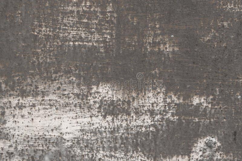 Vieja textura ahumada rasgu?ada abstracta con los bordes sombreados, fondo del metal del grunge fotos de archivo