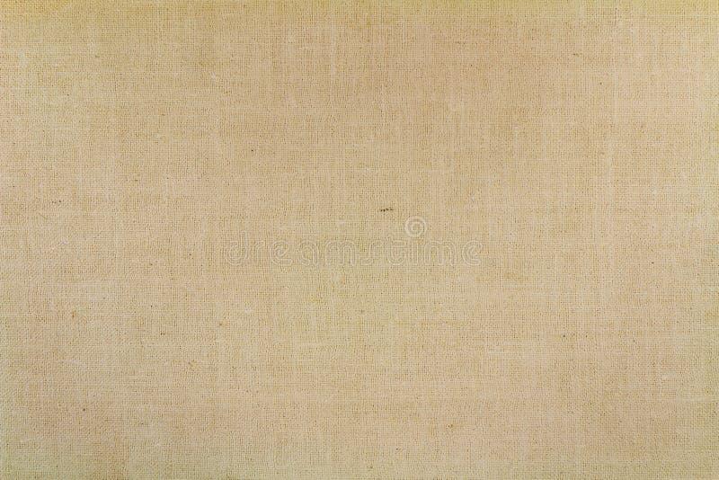 Vieja textura beige de la materia textil con los desgastes abstraiga el fondo fotos de archivo libres de regalías