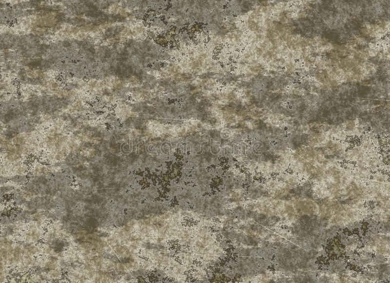 Vieja textura de la migaja de una pared seca sucia ilustración del vector