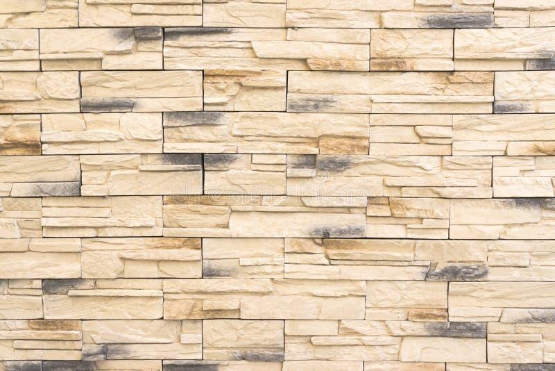 Vieja textura de la pared de ladrillo del modelo de la pared de ladrillos o luz marrón del fondo de la pared de ladrillo para el  imágenes de archivo libres de regalías