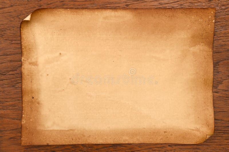Vieja textura de los papeles foto de archivo libre de regalías