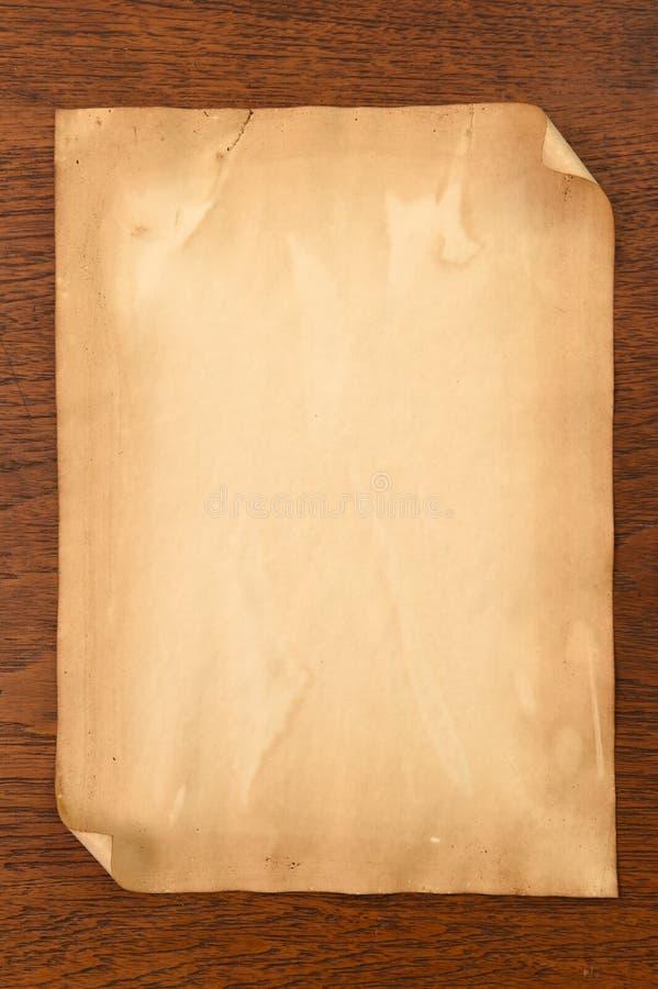 Vieja textura de los papeles fotos de archivo