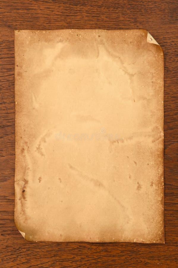 Vieja textura de los papeles imagenes de archivo
