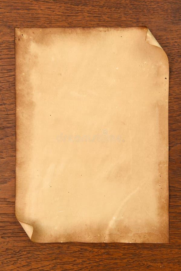 Vieja textura de los papeles imágenes de archivo libres de regalías