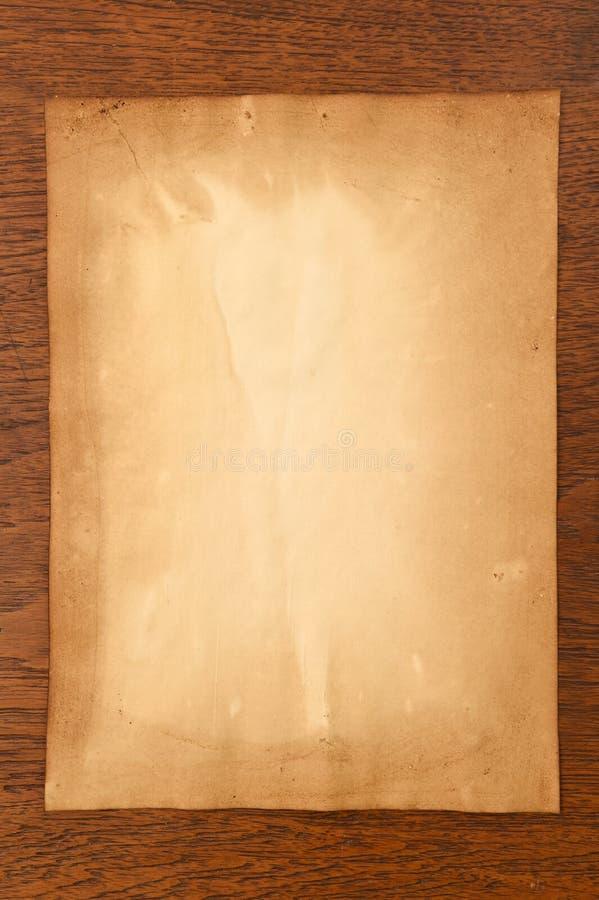 Vieja textura de los papeles imagen de archivo libre de regalías